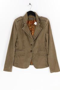 DRYKORN FOR BEAUTIFUL PEOPLE - blazer aus baumwolle mit schulter-riegeln - D 36-38