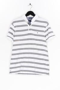 TOMMY HILFIGER - polo-shirt mit streifen - L