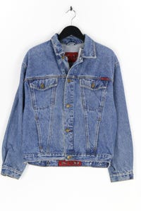 C&A - jeans-jacke im used look - M