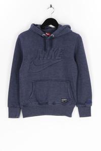 NIKE - kapuzen-pullover mit logo-patch - S