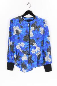 HARDOB - satin-hemd-bluse mit schößchen - D 40
