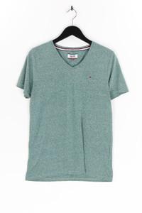 Hilfiger Denim - t-shirt mit logo-stickerei - M