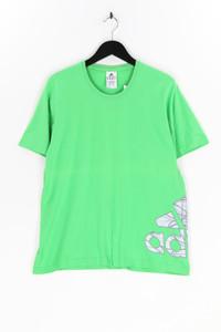 adidas - t-shirt mit logo-print - L