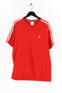 adidas - kurzarm-t-shirt mit logo-stickerei - L