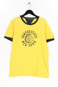 TOMMY HILFIGER - t-shirt aus baumwolle mit print - XL