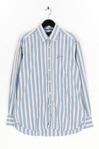 TOMMY HILFIGER - gestreiftes hemd aus baumwolle mit logo-stickerei - L