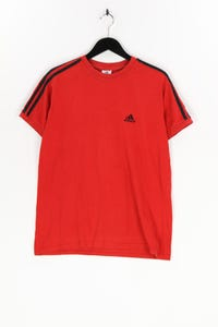 adidas - shirt mit logo-print - L