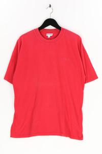 Reebok - t-shirt mit logo-stickerei - L
