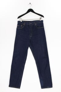 Levi´s - dark denim straight cut jeans mit logo-patch - W38