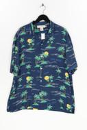 H&M LOGG - hawaii hemd aus viskose mit print - L
