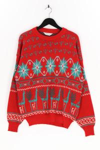 steffner - muster-pullover aus reiner schurwolle - L