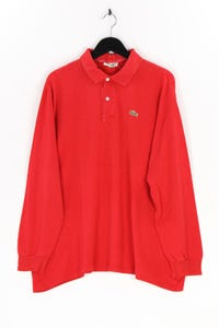 CHEMISE LACOSTE - longsleeve-polo-shirt mit logo-patch - XXXL