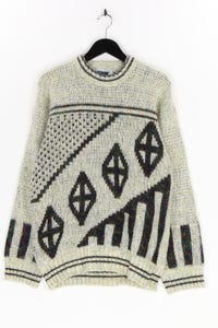 SHW - pullover mit geo-print - M