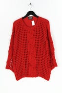 LAGOON COLLECTIONS - strick-pullover aus woll-mix  mit applikationen - L