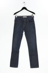 Levi´s - coated skinny-jeans mit logo-patch - W30