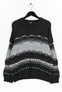 CANDA by C&A - muster-pullover aus woll-mix - L