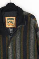 BURTON - winter-jacke aus woll-mix mit streifen - XL