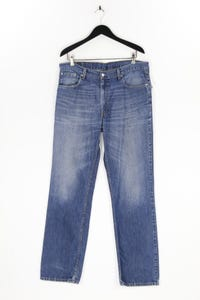 Levi´s - used look straight cut jeans mit logo-patch - W38