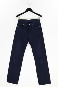 Levi´s - dark denim straight cut jeans mit logo-patch - W31