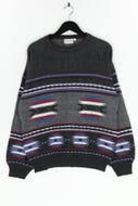 Henry Morell - muster-pullover - L