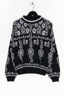 C&A - muster-strick-pullover - D 40
