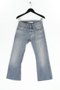 LEVI STRAUSS & CO. - used look cropped jeans - W29
