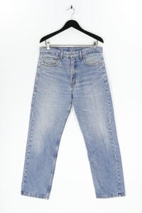 LEVI STRAUSS & CO. - used look straight cut jeans - W34