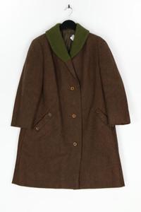 VEB treffmodelle BERLIN - winter-mantel aus woll-mix mit schalkragen - L