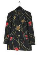 BERRI SPORT COUTURE - print-blazer mit schmuck-knöpfen - D 36