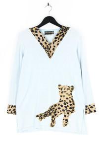 Ciro Esposito - strick-pullover mit leo-print - D 42-44