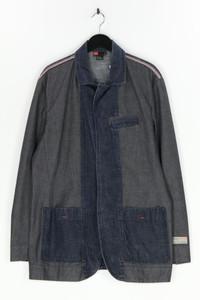 DIESEL - two tone-jeans-jacke - XL