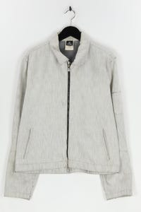 VERSACE JEANS COUTURE - oversize-jeans-jacke mit logo-prägung - L