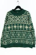 CLUB MONACO - norweger-woll-pullover - S