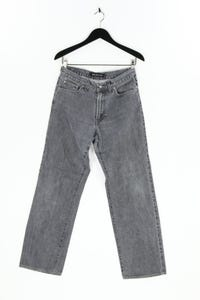 VERSACE JEANS COUTURE - used look straight cut jeans aus baumwolle - W31