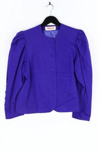 electre PARIS - 80s-blazer aus reiner schurwolle mit puffärmeln - D 42