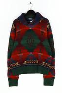 Polo by Ralph Lauren - muster-pullover aus woll-mix mit kaschmir mit alpaka - XL