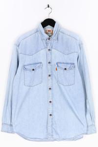 Levi´s - jeans-hemd mit aufgesetzten taschen - M