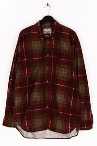 RAYBEST BASIC - cord-hemd mit karo-muster - XXL