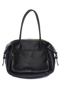 BREE - handtasche aus leder mit logo-prägung -