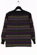 Lucia - muster-strick-pullover aus woll-mix - M