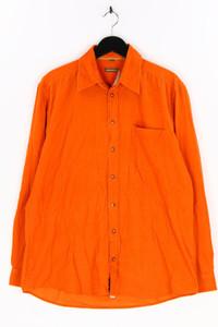 LARUSSO - cord-hemd aus baumwolle - L