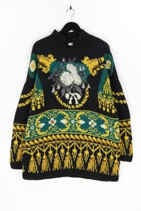 JOSEPH TRICOT - muster- woll-pullover - XL