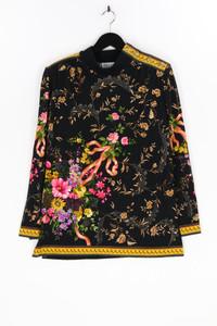 BOTTO - strick-pullover mit blumen-print, aus wolle - D 42