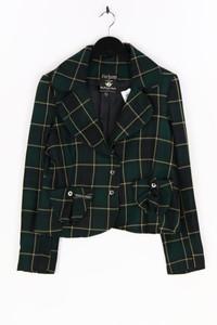 Parfums et Couture - blazer-jacke mit karo-muster - M