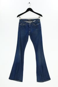 GIANNI VERSACE COUTURE - used look flared-jeans mit stretch - W27