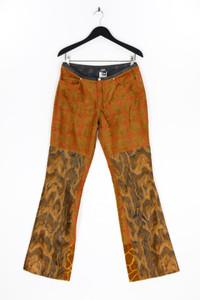 GIANFRANCO FERRE JEANS - fake fur- hose mit animal-print - D 40