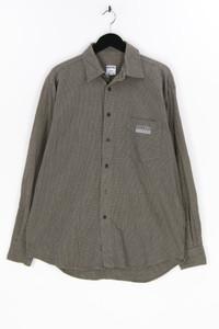 MOSCHINO JEANS - kariertes hemd mit logo-knöpfen - L