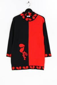 WENZ - two tone- strick-pullover mit schurwolle - D 42