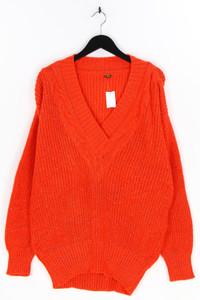 jacques darel - strick-pullover mit metallic-effekt, aus woll-mix - L