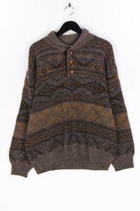 COLLECTION MAYSER - ethno- pullover aus woll-mix - 54